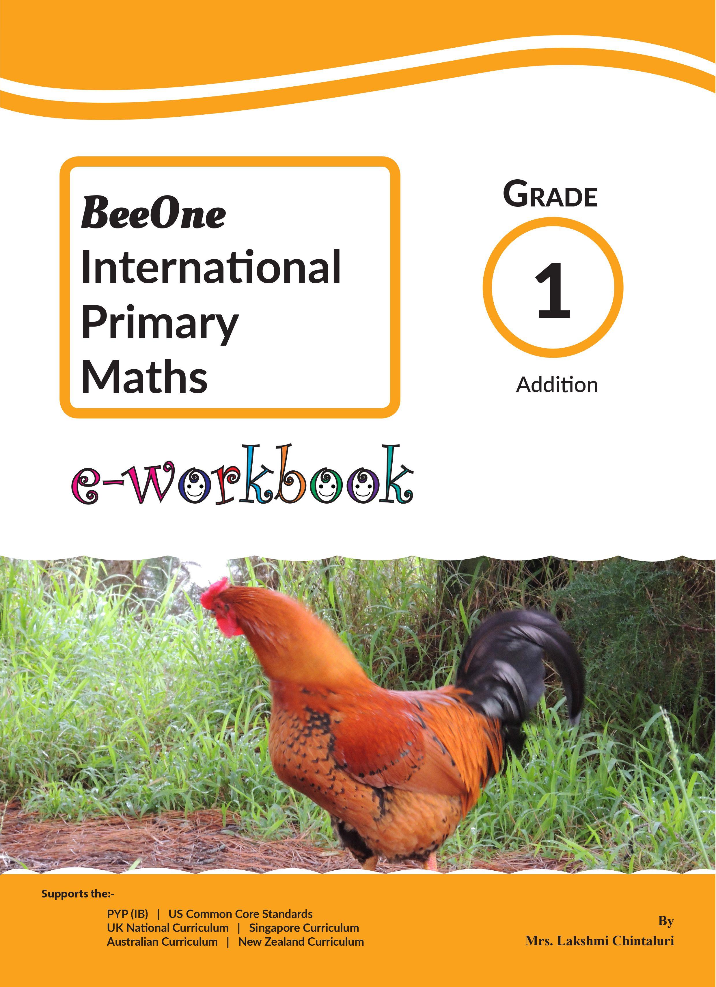 Addition Worksheets E Workbook For Just 1