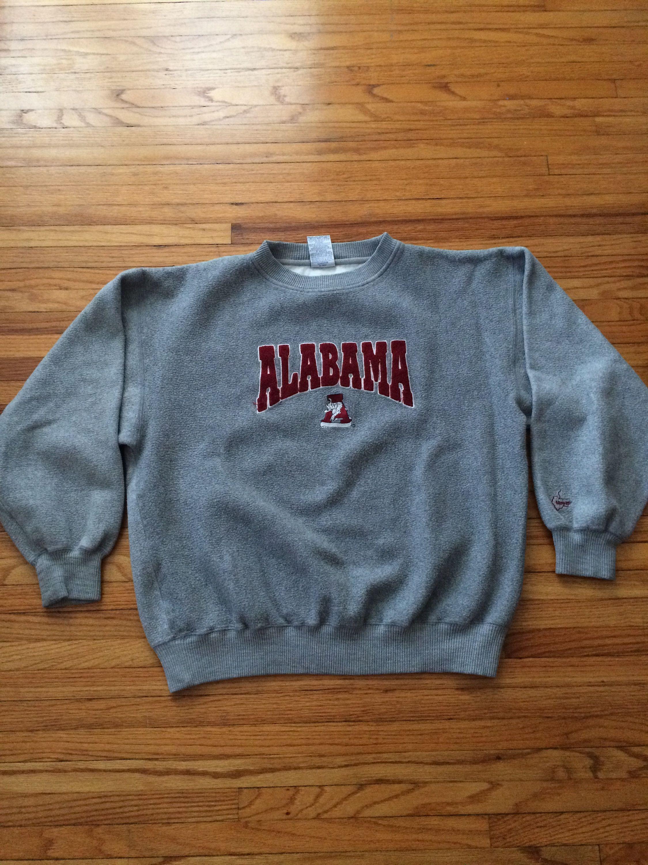 Vintage Midwest Embroidery University Of Alabama Crimson Tide Etsy Embroidered Sweatshirts Sweatshirts Alabama Crimson Tide [ 3000 x 2250 Pixel ]