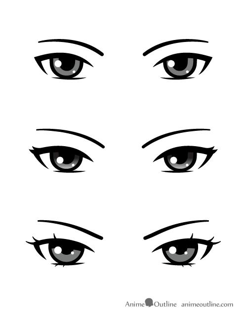 Villain Anime Eyes Eye Drawing Anime Eye Drawing Anime Eyes