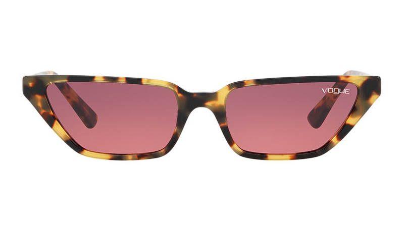 ab7875e9081c Gigi Hadid x Vogue Eyewear VO5235S 53 Sunglasses Purple Tortoise  139.95
