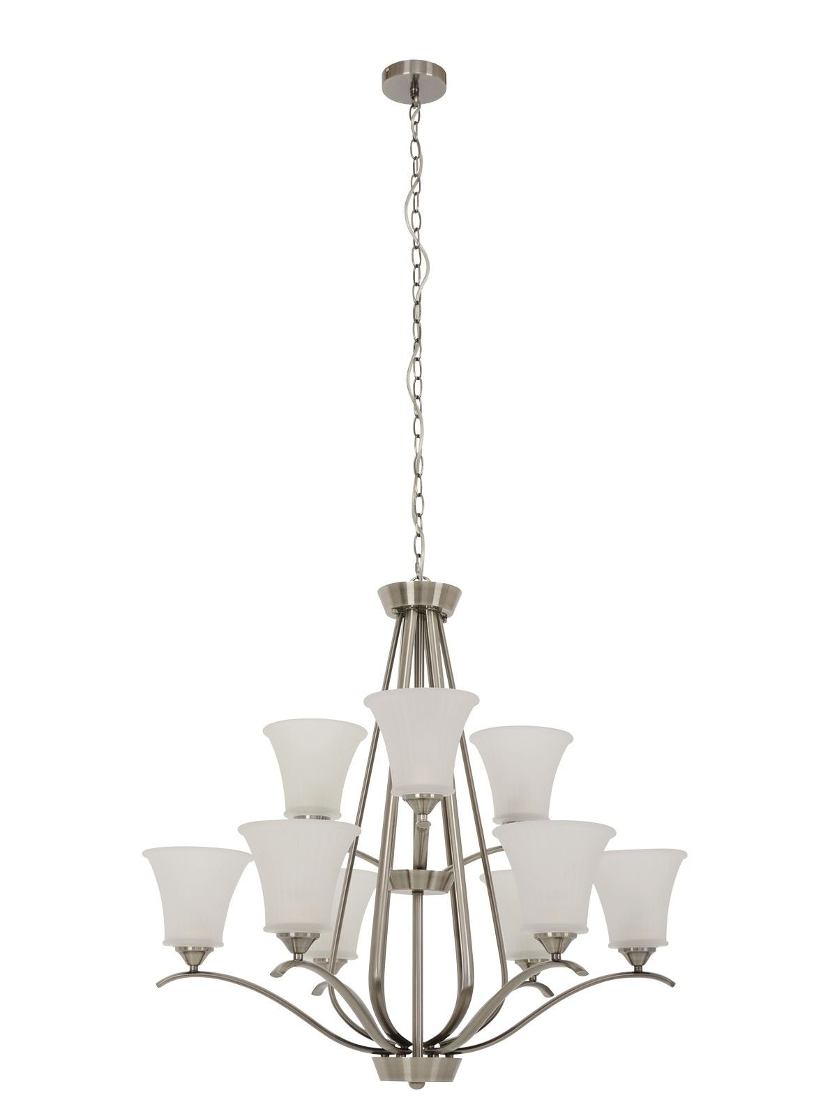 Orchard 9 Light Pendant In Antique Nickel Lights Ceiling