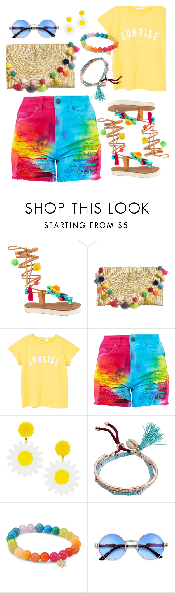 """""""Be Bold"""" by interesting-times ❤ liked on Polyvore featuring MANGO, Billabong and Sydney Evan"""