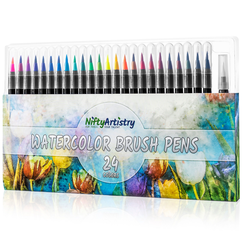 Home Watercolor Paint Set Watercolor Brush Pen Water Brush Pen