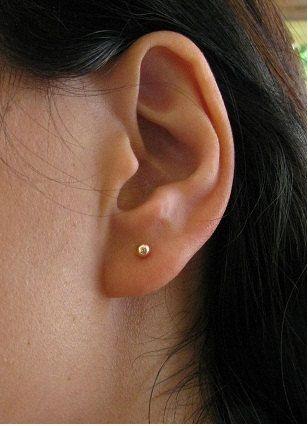 203247ef5 post earrings ,stud earrings, gold earrings, gold post earrings, 14k gold  filled earrings,ball earrings, tiny ball earrings. $12.00, via Etsy.