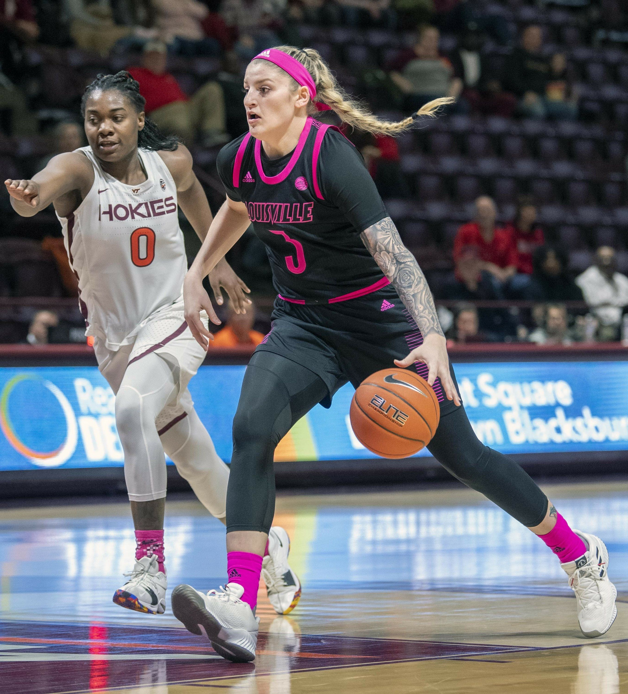 Durr Fuehring Lead No 2 Louisville Past Va Tech 72 63 Basketball Girls Outfits Basketball Girls Basketball Clothes