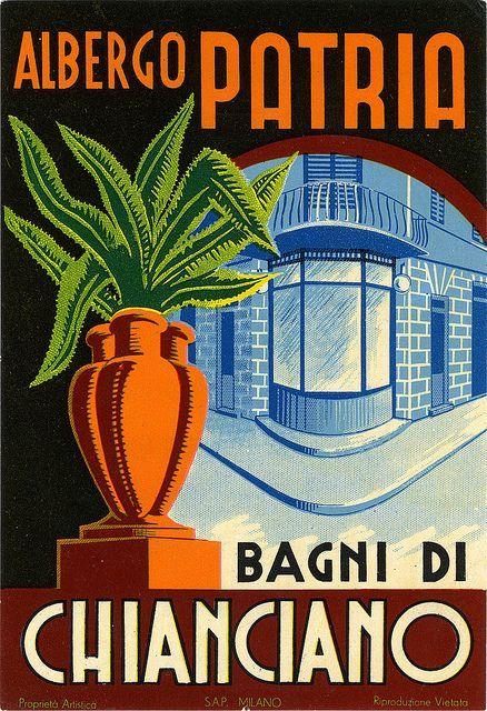 Resultado de imagen para italian vintage labels