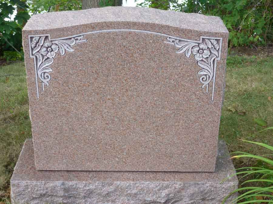 Granite Stone Monuments : Granite headstones and monuments for sale in greater