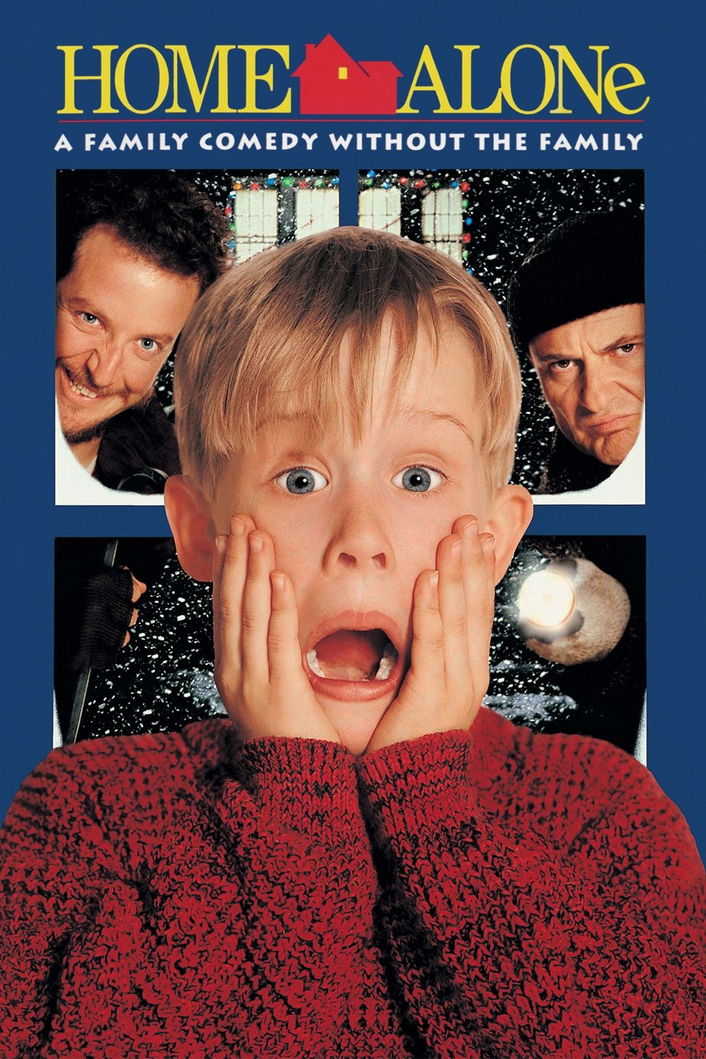 Image result for home alone movie poster