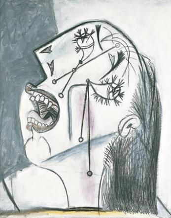 Pablo Picasso The Weeping Woman Pablo Picasso Paintings Picasso Paintings Weeping Woman