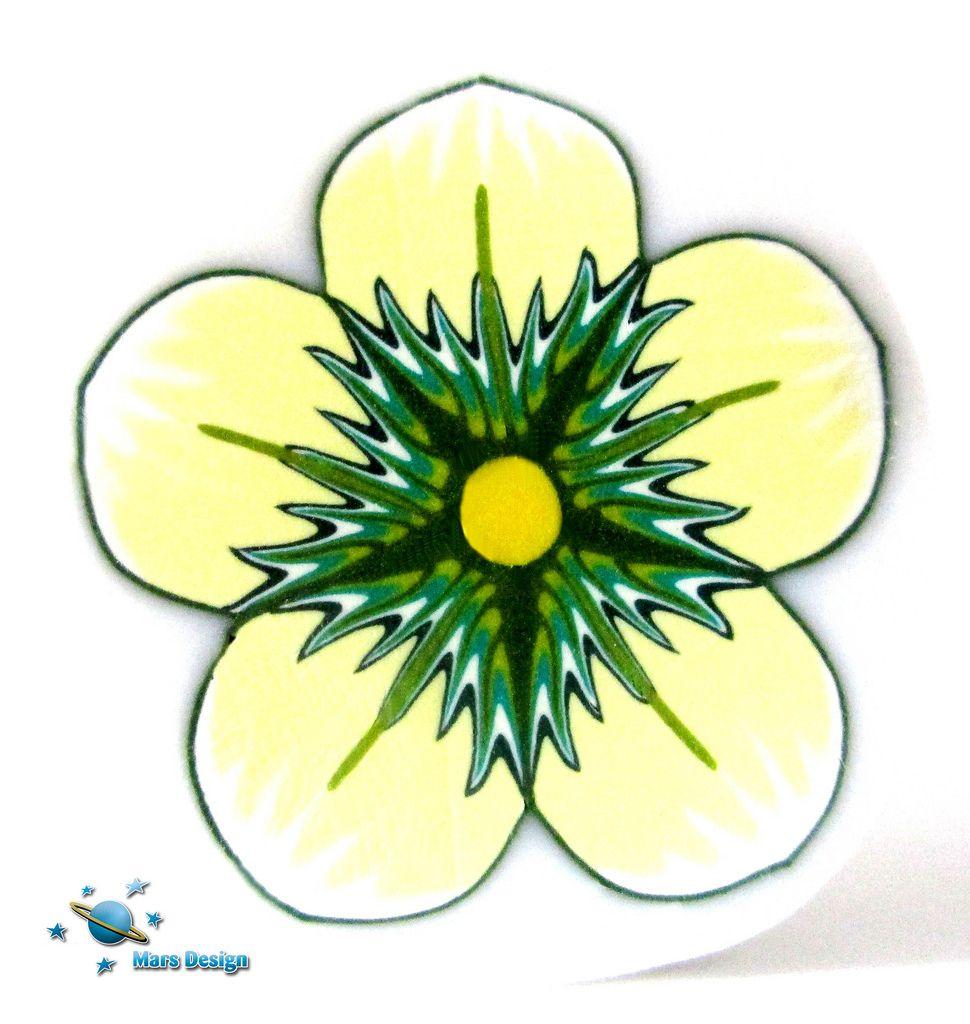 Green flower cane | by Marcia - Mars design