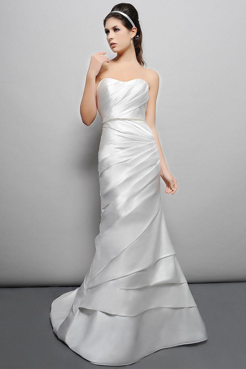 Ecru wedding dress  Eden Bridals GL