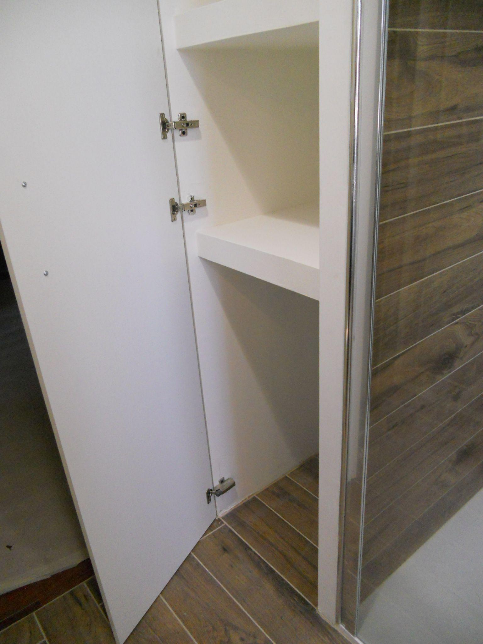 Idee Per Nicchie Nel Muro armadio a muro realizzato in cartongesso | arredamento