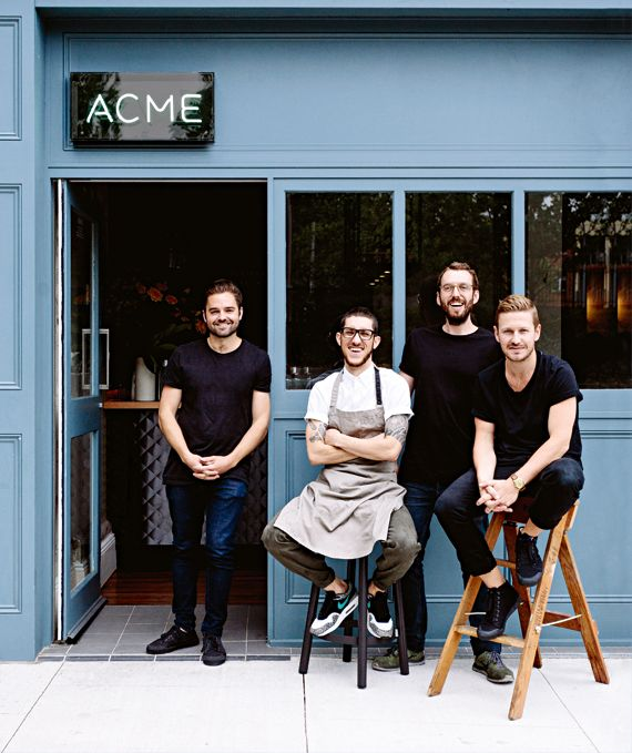 Italian flavours are fused with Japanese umami at Acme restaurant, Sydney - Vogue Living