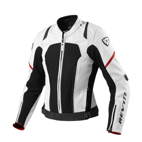 This jacket is designed for fast-riding girls looking for a stylish, women's-specific design that doesn't sacrifice safety. Tailored for a tighter, performance fit, this jacket features a fully waterproof 3L hydratex® liner that can be removed and upgraded to a Challenger cooling vest insert for unrivaled comfort on hot days. Safety features include CE protection designed specifically for a woman's body, Grade-A leather construction and reflective panels for enhanced visibility on the road…
