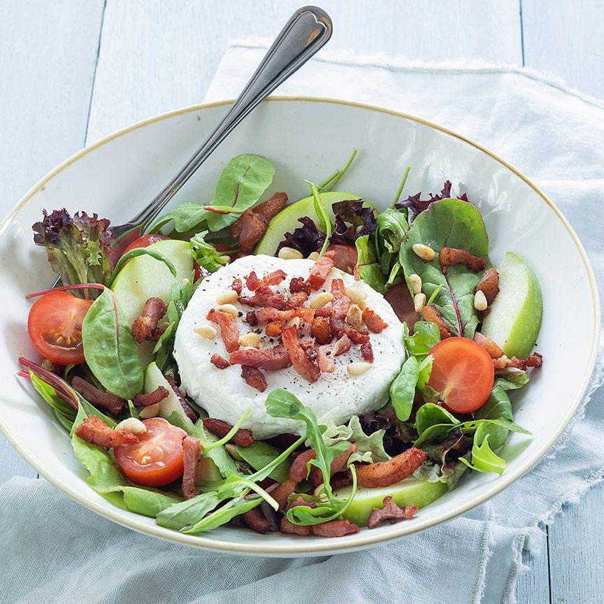 Salade met geitenkaas