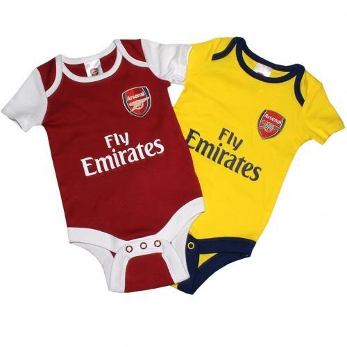 2 Pack Body 6//9 mois NR Arsenal F.C