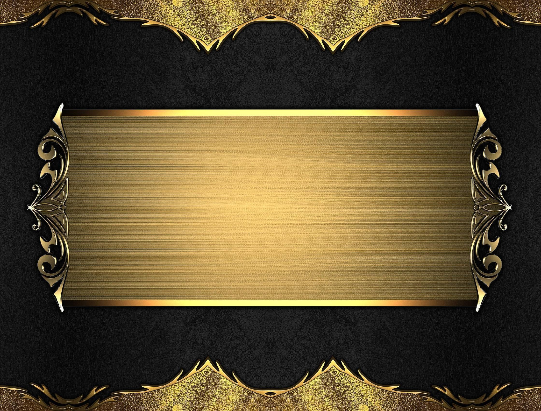 Wallpapers For > Gold And Black Backgrounds