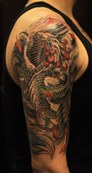 Tatuaże Męskie Na Ramie Phoenix Tattoos Tatuaże Męskie