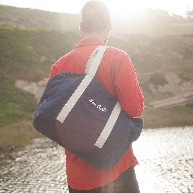 (8) Fancy - Sea Salt Tote Bag by Izola