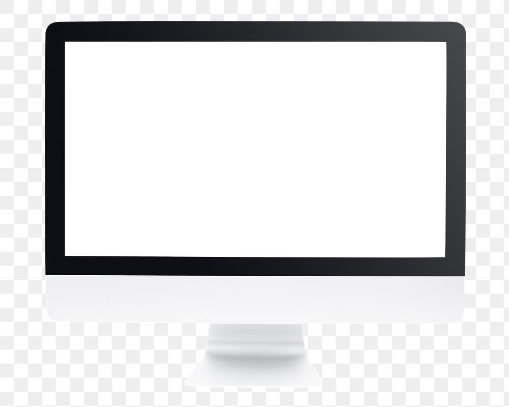 Computer Monitor Mockup Png Digital Device Premium Image By Rawpixel Com Eve Computer Mockup Computer Mockup