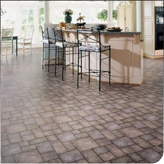 Flooring That Looks Like Stones In Patios And Garden Paths Etc Or - Paint vinyl floor look like stone