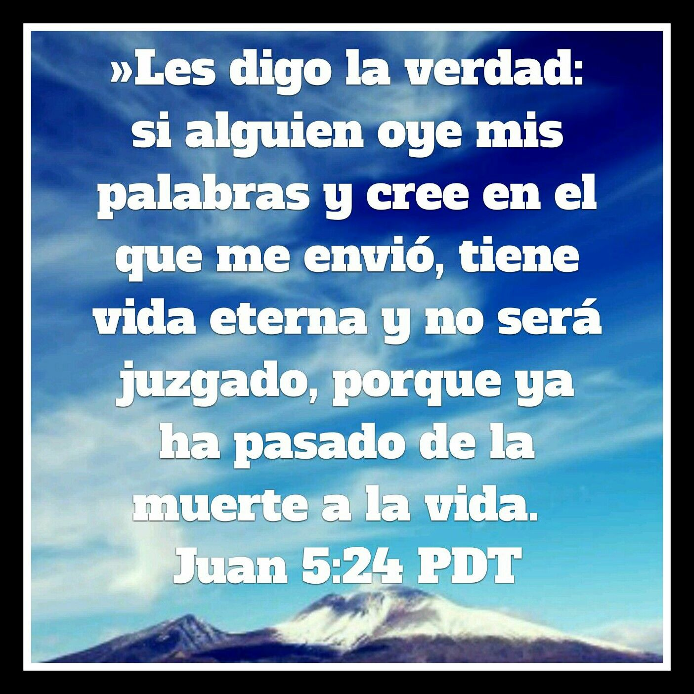 Galeria de Versiculos Biblicos: Juan 5:24