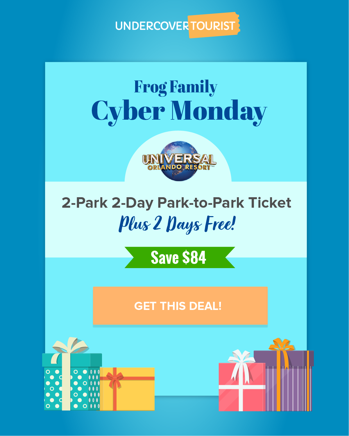 Cyber Monday Save 84 On 2 Park 4 Day Park To Park Tickets To Universal Orlando Resort Cy Universal Parks Universal Orlando Universal Orlando Resort