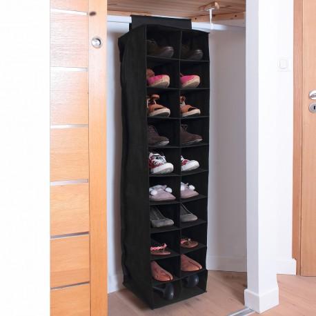Rack 20 Cases Pour Chaussures H130cm Etagere Rangement Rangement Chaussures Rangement Chaussures Pas Cher