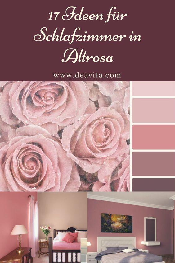 Schlafzimmer In Altrosa Ideen Fur Farbkombinationen Als Wandfarbe Co Altrosa Wandfarbe Altrosa Schlafzimmer Rosa Zimmer
