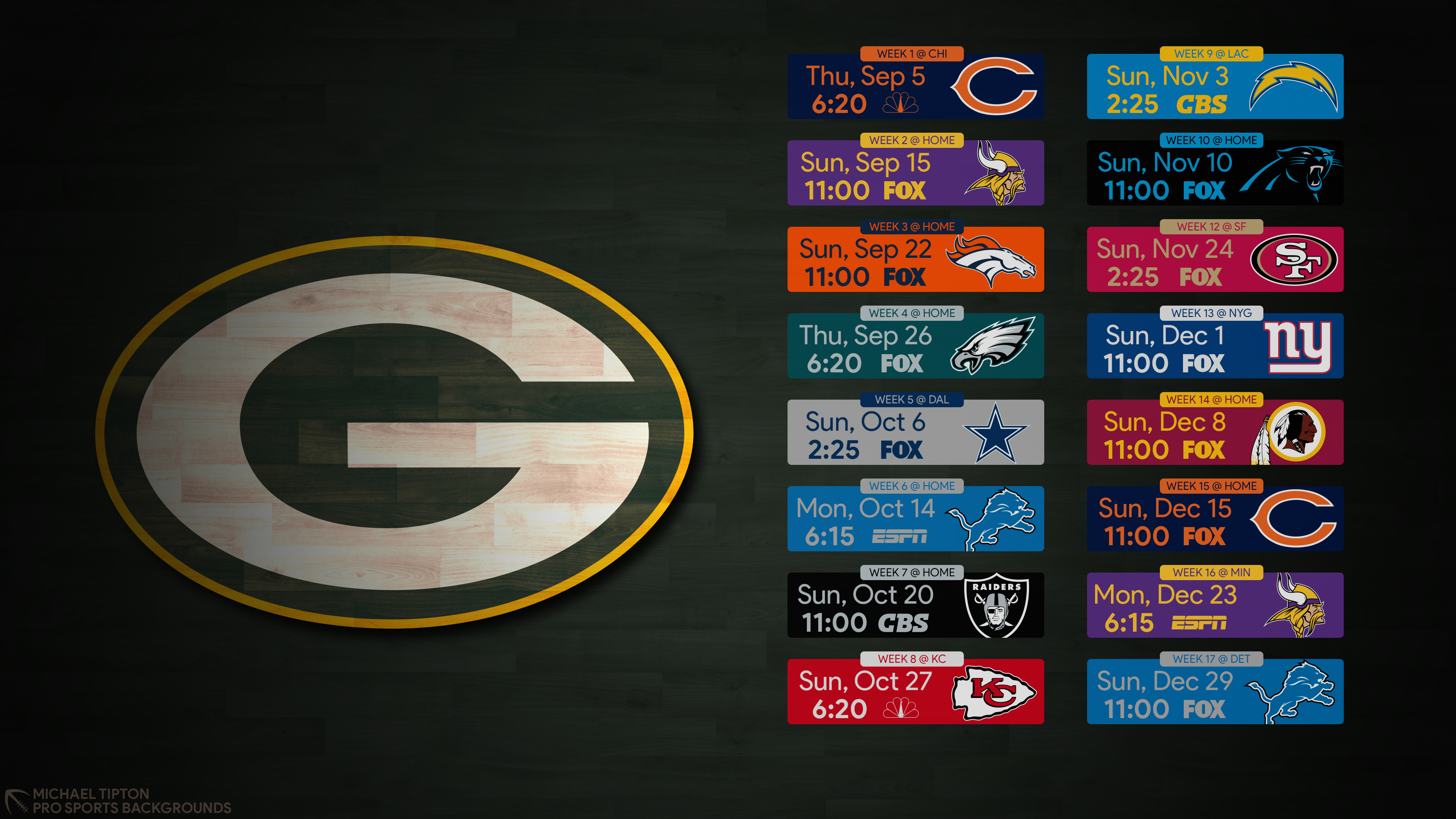 Get Inspired For Green Bay Packers 2019 Schedule Wallpaper Pictures In 2020 Green Bay Packers Wallpaper Green Bay Packers Green Bay