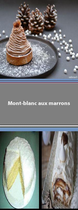 Mont-Blanc Une recette proposée par Sabaton. #montblancrecette