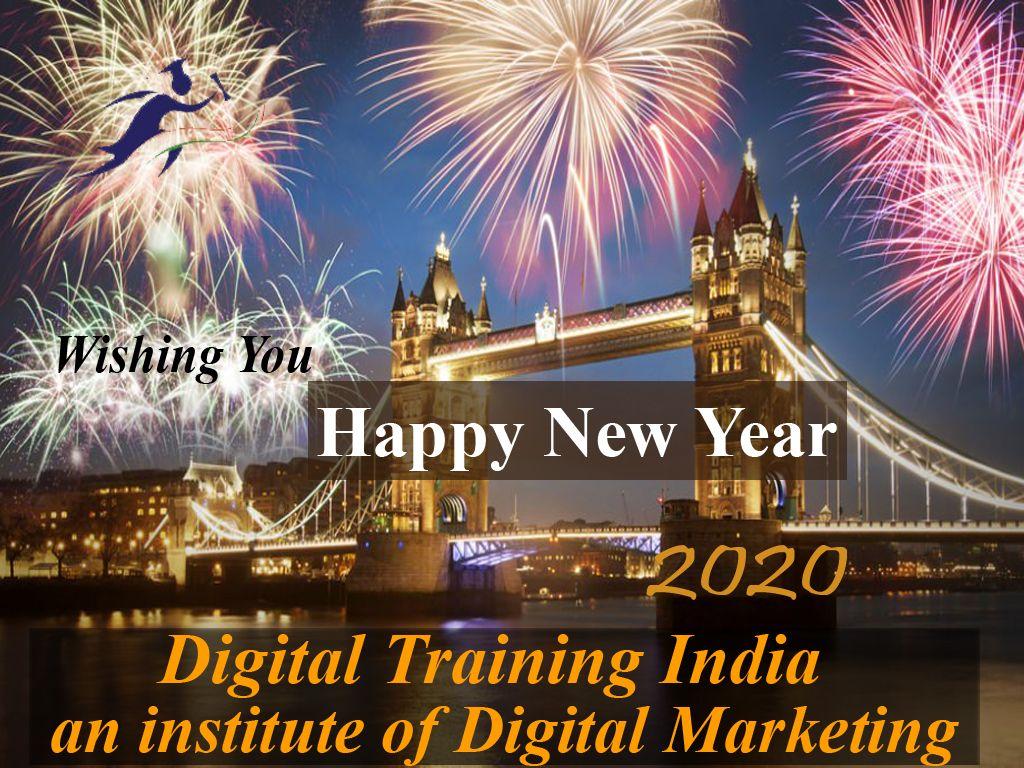 Happy New Year in 2020 Digital marketing training
