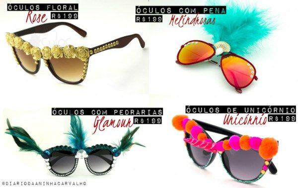 3db80e8ef óculos-para-o-carnaval-coleção-especial | Alalaô | Brille