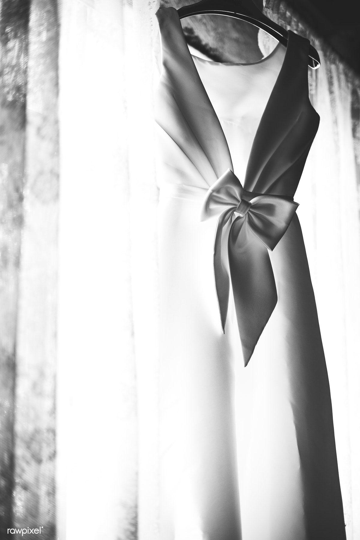Free Image By Rawpixel Com White Dress Bride White Wedding Dresses White Wedding
