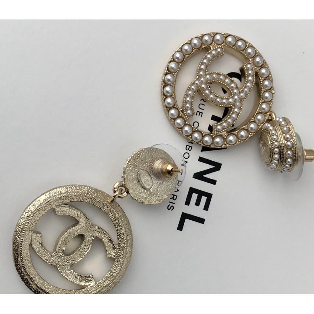 Cc Earrings Chanel Gold In Metal 7121571