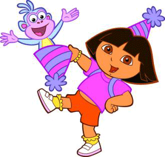 Dora Y Botas De Cumpleanos Explorer Birthday Party Dora The Explorer Birthday Theme