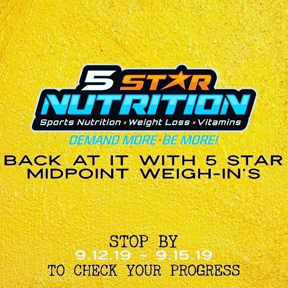 . It's that time to check those results! Halfway into our Weight loss challenge! Stop by and come ge...
