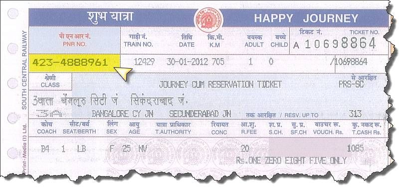 While the ticket's design itself might vary (it might be reddish or white  instead of blue, and lack advertisements on the sides), the information on  the ...