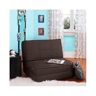 Lovely Chair Bed Kids Flip Chairs Sleeper Lounge Dorm Teen Bedroom Children  Seating NEW