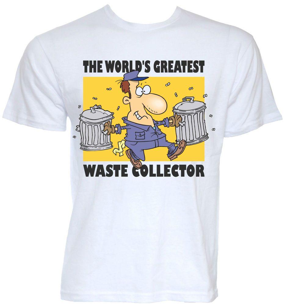 T shirt design ideas for schools - Mens Funny Cool Novelty Waste Collector Binman Bin Man T Shirts Joke Gifts Ideas
