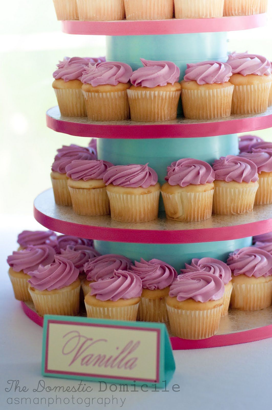 DIY Wedding Revisited: Cupcake Tower |The Domestic Domicile