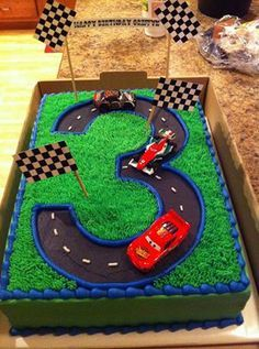 Terrific Oreo Dirt Track Cake Race Track Cake Cars Birthday Cake Funny Birthday Cards Online Elaedamsfinfo