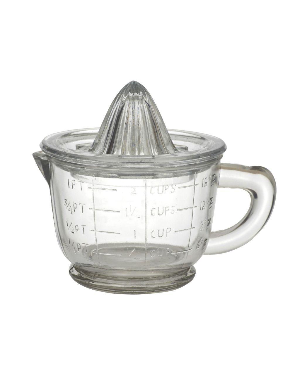 Academy Hemingway Glass Juicer With Jug 700ml
