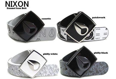 NIXON Enamel Icon Belt