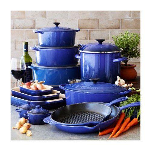 Quick Trip Kitchens: Le Creuset Blue Oval French Oven, 3 1/2qt., Cobalt, 3.5 Qt