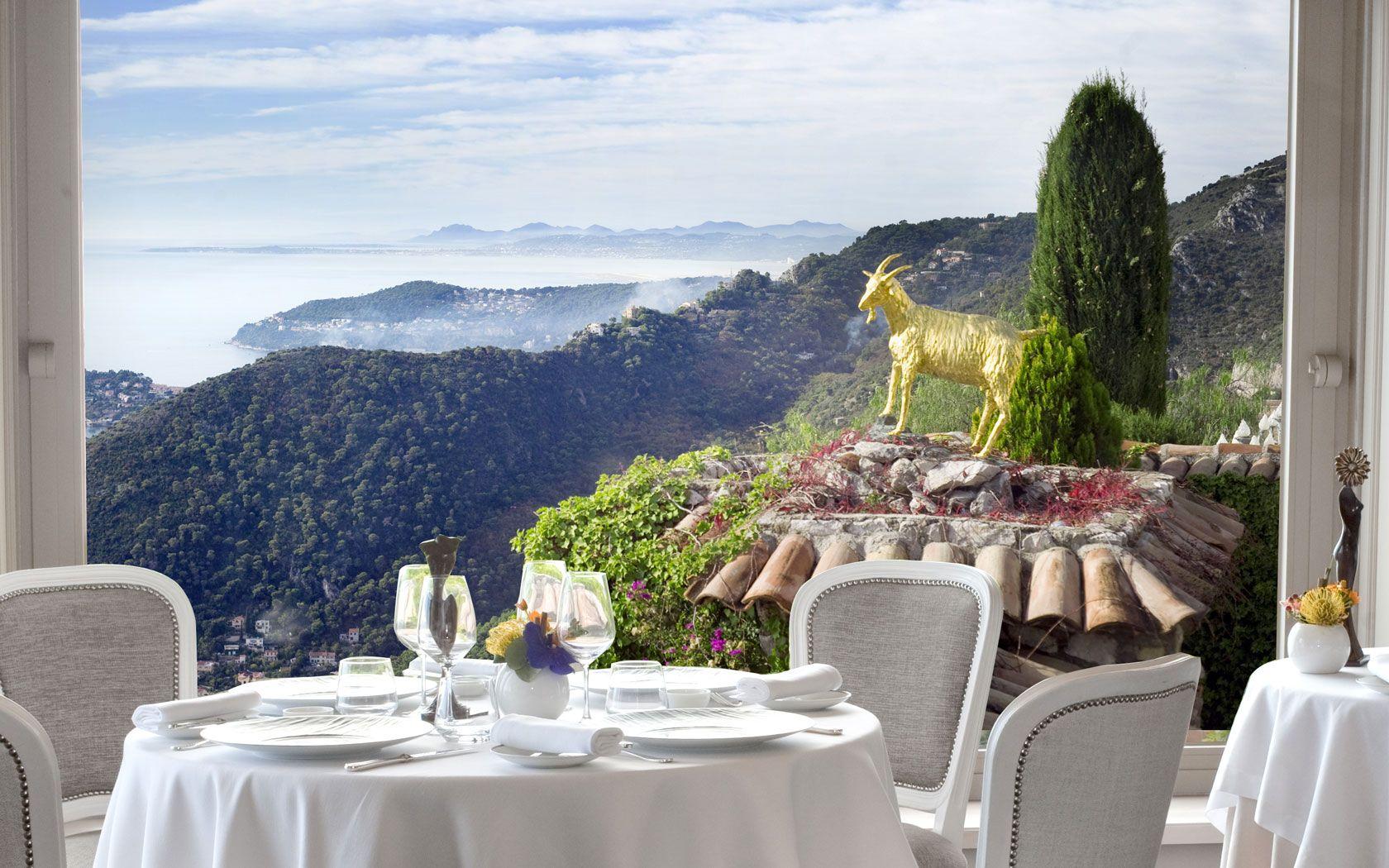 La Chevre D'Or Hotel Restaurant Eze, Cote d'Azur French