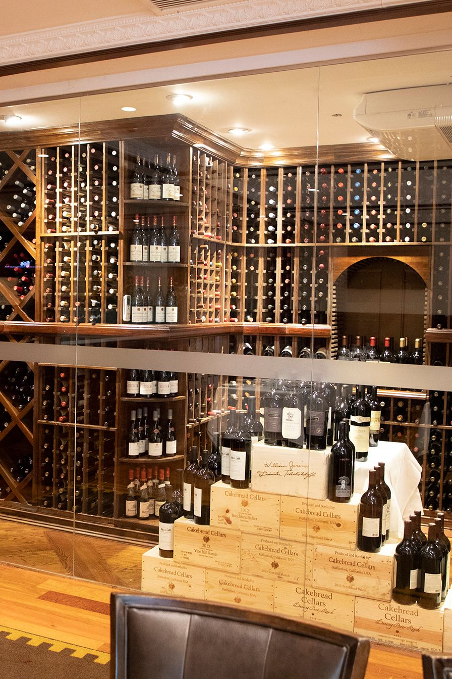 Westchester S Benjamin Steakhouse Takes Wine Storage Seriously