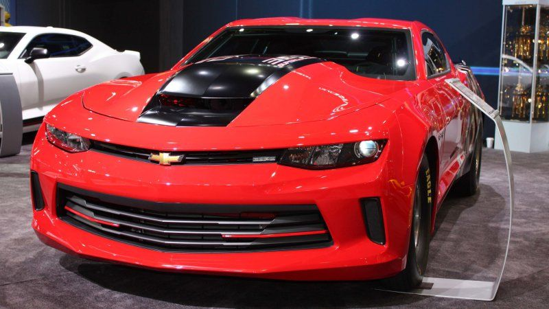 Chevy Donates First 2016 Copo Camaro To United Way Chevrolet