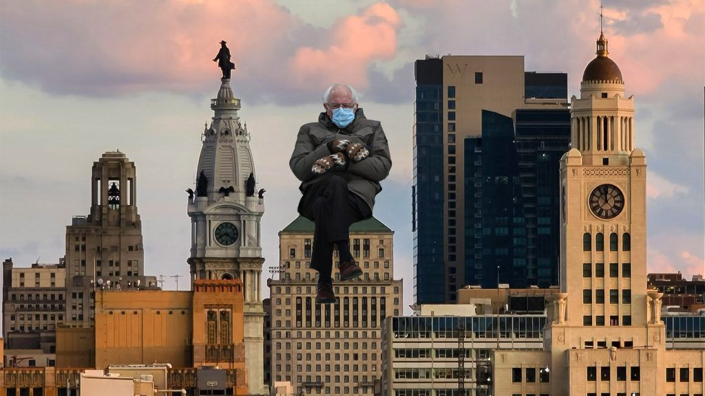 45 Philly Specific Bernie Sanders Mittens Memes On Top Of Philly News In 2021 Hospital Philly Ferry Building San Francisco
