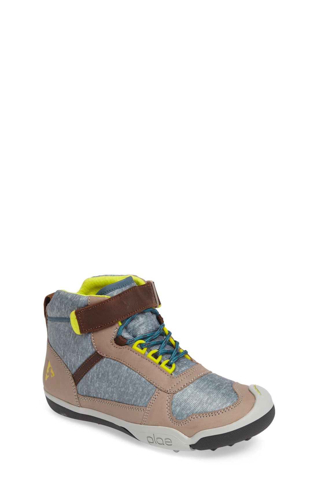 Free shipping and returns on PLAE Kaiden Customizable Boot (Toddler, Little Kid & Big Kid) at Nordstrom.com. Racy pops of color and suede trim make this boot a handsome favorite. An interchangeable hook-and-loop strap lets him add a personalized twist to the look.